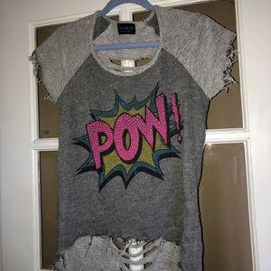 Comic Book Ripped Shirt